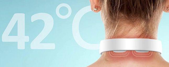 TeamYo Nackenmassagegerät mit Wärmefunktion für Schultern und Rücken für 19,99€ (statt 40€)