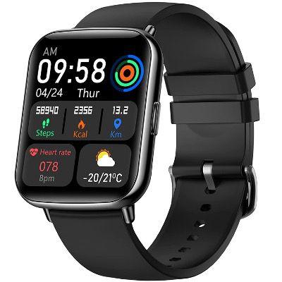 VOTUENIX Smart  und Fitnessuhr mit Touchscreen und Pulsfunktion IP68 wasserdicht für 26,64€ (statt 41€)