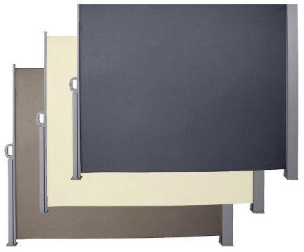 Wolketon Seitenmarkisen 160cm und 180cm hoch jeweile 300cm breit ab 53,99€ (statt 169€)