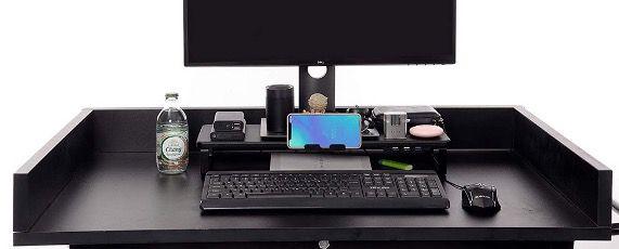 BigTron Monitorständer mit USB 3.0/2.0 Hub mit Laptop mit Telefonhalter für 17,99€ (statt 36€)