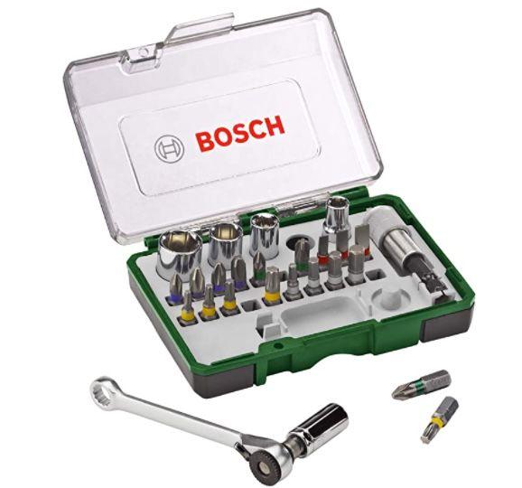 Bosch Mini Ratschen-Set 27-tlg. ab 12,74€(statt 18€) – Prime