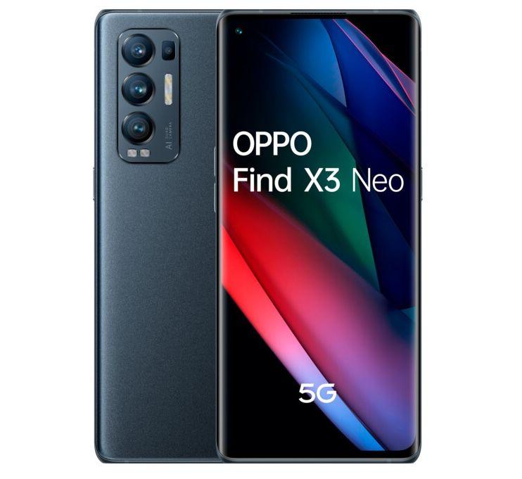 Oppo Find X3 Neo 5G 256GB + Oppo Enco X für 149,95€ + Vodafone Allnet-Flat von otelo mit 30GB LTE für 29,99€ mtl.