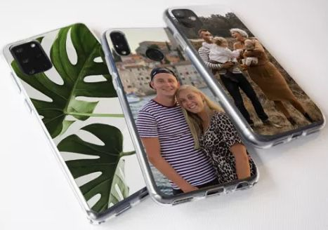 Smartphone Hülle mit eigenem Motiv für je 5,97€ + 3,99€ Versand