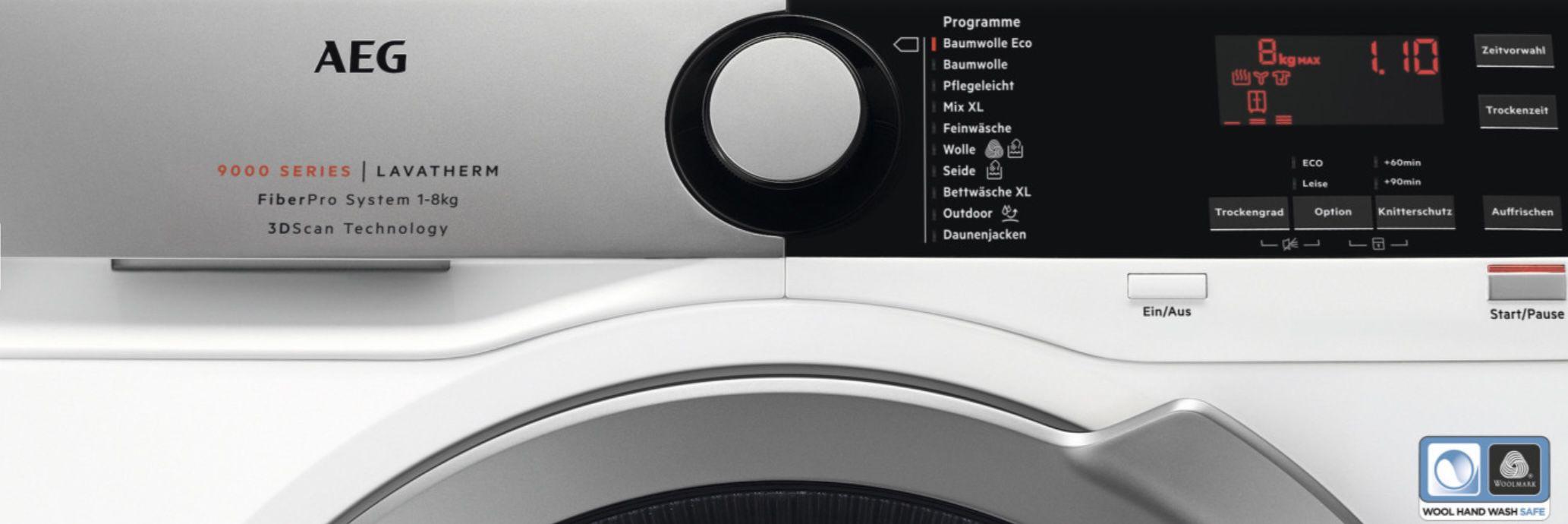 AEG T9DE78685 8kg Wärmepumpentrockner für 654€ (statt 789€)