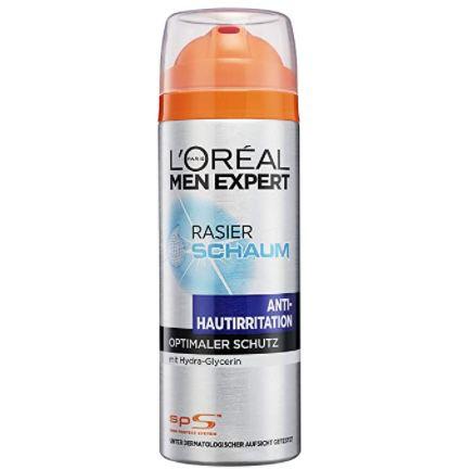 5x LOréal Men Expert Rasierschaum mit Hydra Energy Anti Hautirritation für 11,21€ (statt 19€)   Prime Sparabo