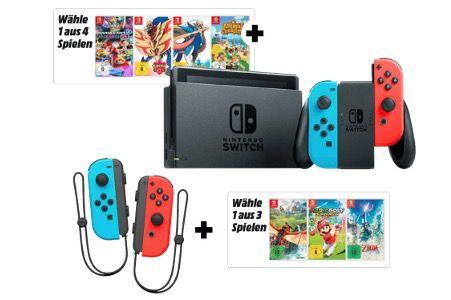 The Legend of Zelda: Skyward Sword HD + Joy Con 2er Set Controller für 91,28€ (statt 114€)