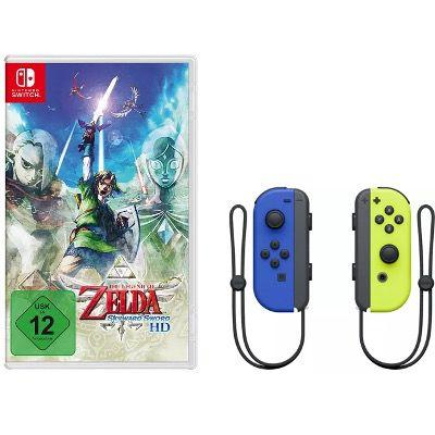 The Legend of Zelda: Skyward Sword HD + Joy-Con 2er-Set Controller für 91,28€ (statt 114€)