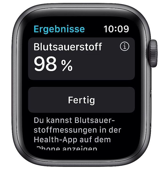 Ab 9 Uhr: Apple Watch Nike Series 6 GPS 44mm in Space Grau für 399€ (statt 432€)