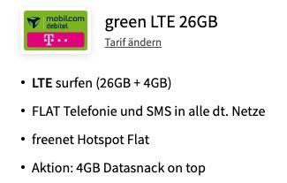 Samsung Galaxy S21+ mit 256GB für 29€ + Telekom Allnet Flat mit 30GB LTE für 39,99€ mtl.