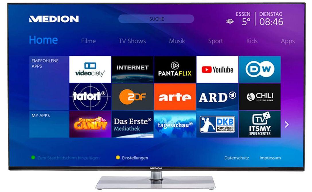 Medion X15061   50 Zoll UHD Fernseher für 329,99€ (statt 430€)