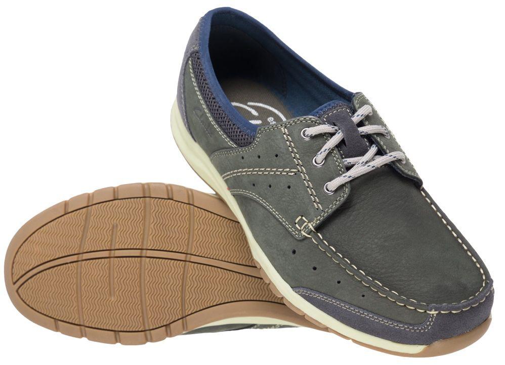 Clarks Ramada Derby English Herren Nubukleder Schuhe für 26,34€ (statt 45€)