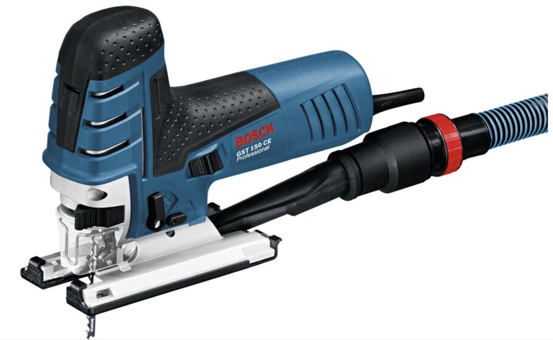 Bosch Professional Stichsäge GST 150 CE inkl. Koffer + Zubehör für 125,54€ (statt 145€)