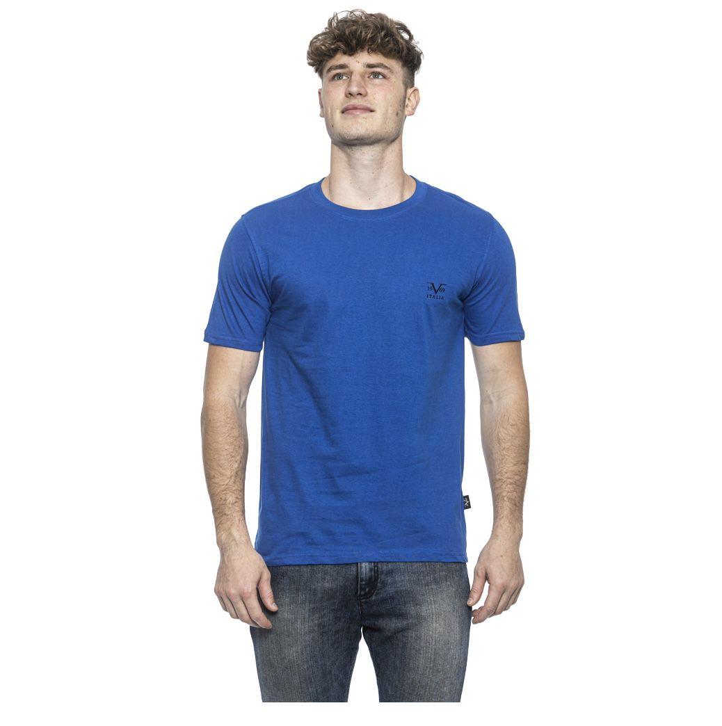 Versace 1969 Herren T Shirt in Royal für 12,34€ (statt 19€)