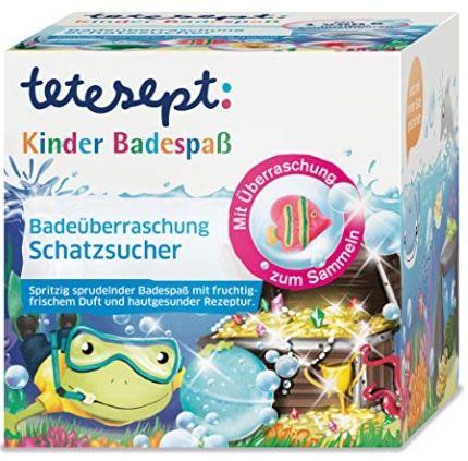 """5x tetesept Kinder Badespaß """"Schatzsucher"""" für 10,32€ (statt 15€) – Prime Sparabo"""