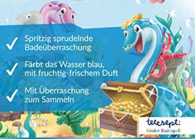 5x tetesept Kinder Badespaß Schatzsucher für 10,32€ (statt 15€)   Prime Sparabo