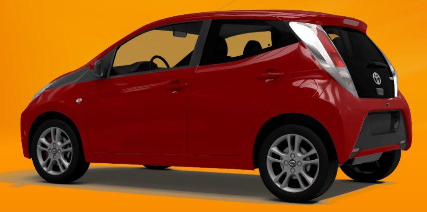 Privat: Toyota Aygo 1.0 mit 72 PS für 88,88€ mtl.   LF: 0.58