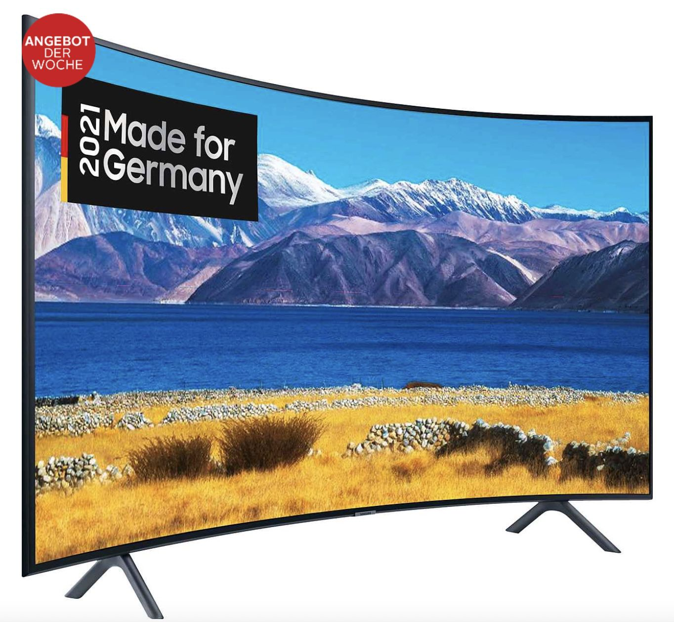 Samsung GU55TU8379U (55) Curved UHD Fernseher für 441,99€ (statt 699€)