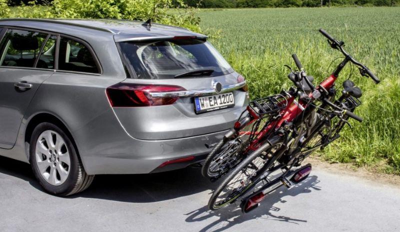 Eufab Hawk Plus Fahrradträger für 2 Fahrräder für 238,95€ (statt 299€)