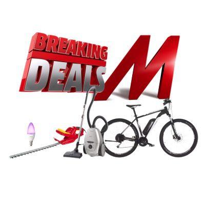 MediaMarkt Breaking Deals – z.B. AEG VX82-1-2MG Staubsauger für 159€ (statt 199€)