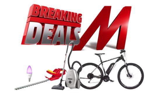 MediaMarkt Breaking Deals   z.B. AEG VX82 1 2MG Staubsauger für 159€ (statt 199€)