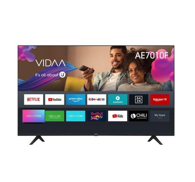 Hisense 58AE7010F – 58 Zoll UHD Fernseher für 369€ (statt 429€)