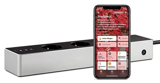 Eve Energy Strip smarte Dreifach Steckdosenleiste mit Verbrauchsmessung für 69,99€ (statt 89€)