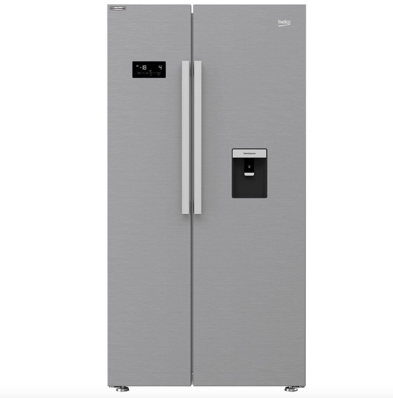 Beko GNE63521DXB Kühl-/Gefrierkombination Edelstahllook No Frost & Wasserspende für 449,91€ (statt 699€)