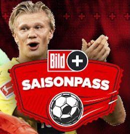 1 Jahr BILDplus Bundesliga Saisonpass für 29,90€ (statt 80€)