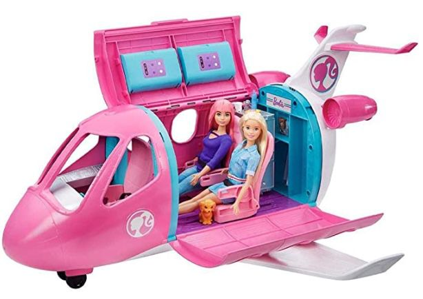 Barbie Reise Traumflugzeug für 37,70€ (statt 70€)