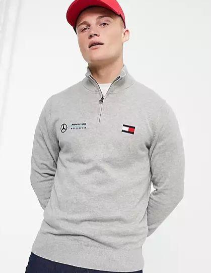 Tommy Hilfiger Sale bei Asos + 25% Extra Rabatt   z.B. Tommy Hilfiger x Mercedes AMG Sweatshirt für 53,96€ (statt 80€)