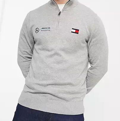 Tommy Hilfiger Sale bei Asos + 25% Extra-Rabatt – z.B. Tommy Hilfiger x Mercedes AMG Sweatshirt für 53,96€ (statt 80€)