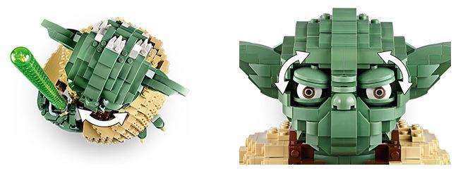 Lego 75255 Star Wars Yoda (41cm hoch!) für 66,90€ (statt 77€)