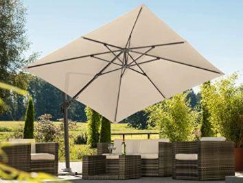 Schneider Rhodos Twist 300 x 300 cm Sonnenschirm für 279,99€ (statt 400€)