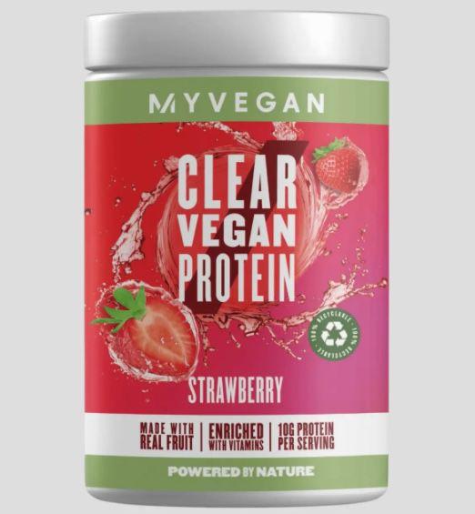 320g Clear Vegan Protein in mehreren Sorten für 14,99€ + keine VSK ab 50€