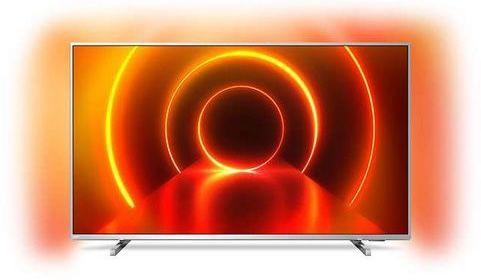 Philips 50PUS8105   50 Zoll UHD Fernseher mit 3 seitigem Ambilight für 354,44€ (statt 470€)