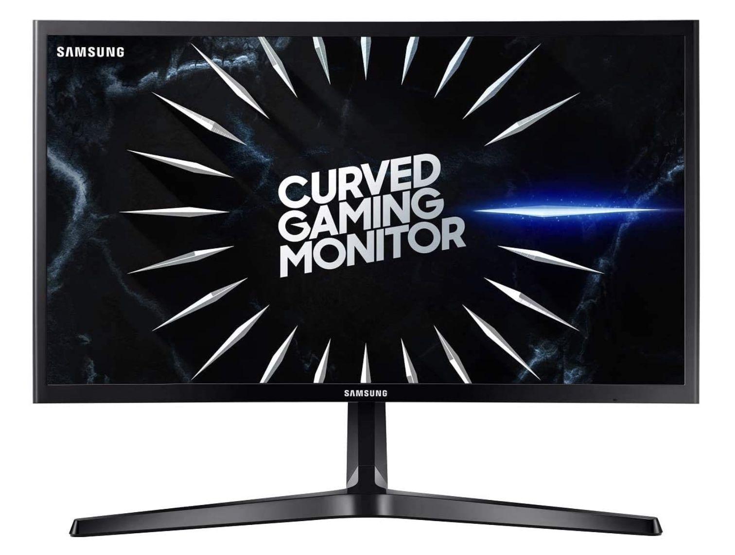 Samsung C24RG54FQR 24 Zoll Curved Gaming FullHD Monitor für 125€ (statt 163€)