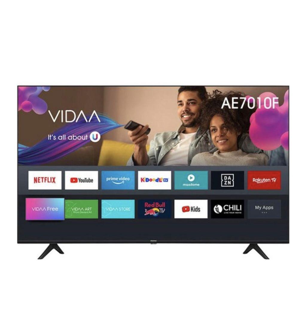 Hisense 70AE7010F – 70 Zoll UHD Fernseher für 582,44€ (statt 680€)