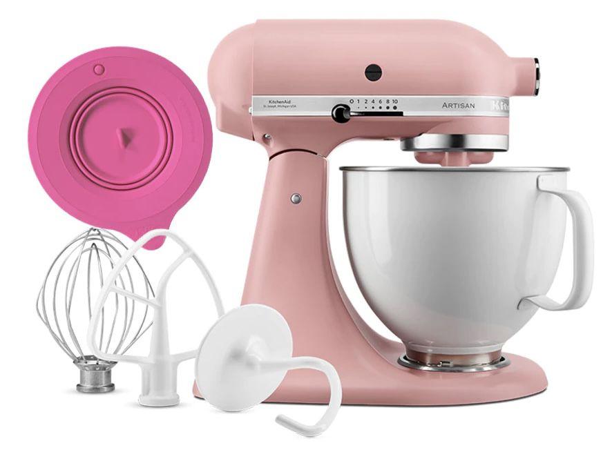 KitchenAid Limited Edition Rose White mit Profi Frischhaltedeckel für 549€(statt 650€)