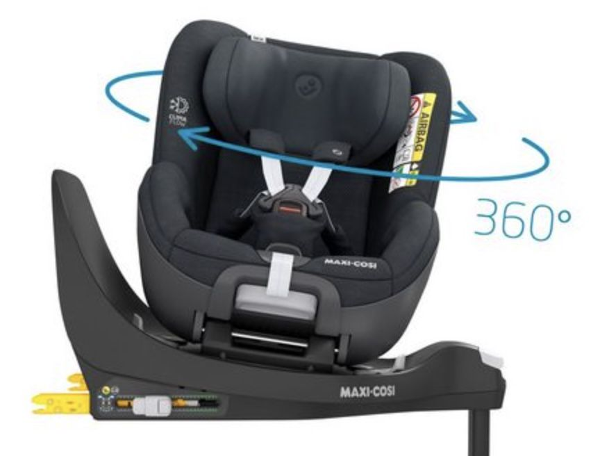 Maxi Cosi Kindersitz Pearl 360 in Authentic Graphite für 309,39€ (statt 369€)