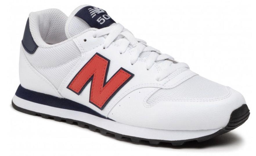 New Balance GM500TA1 in Weiß mit rotem Logo für 39,95€(statt 57€)