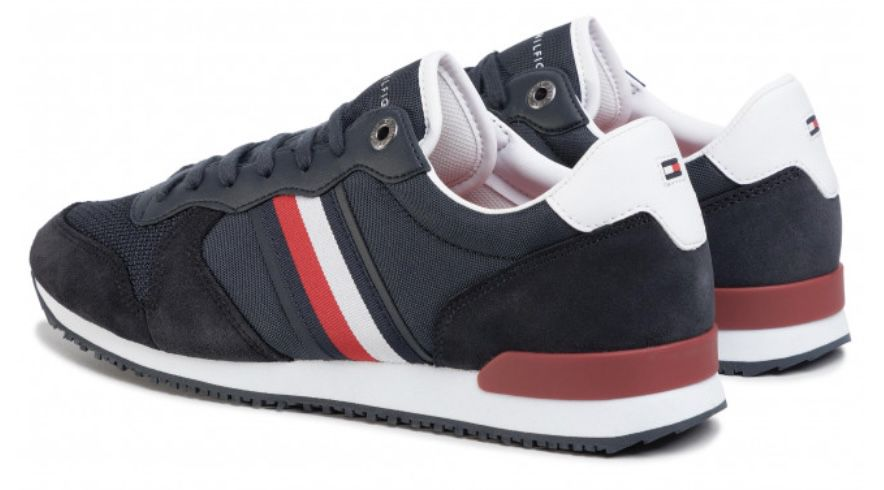 Tommy Hilfiger Icons Panelled Lace Up Sneaker für 50€ (statt 71€)