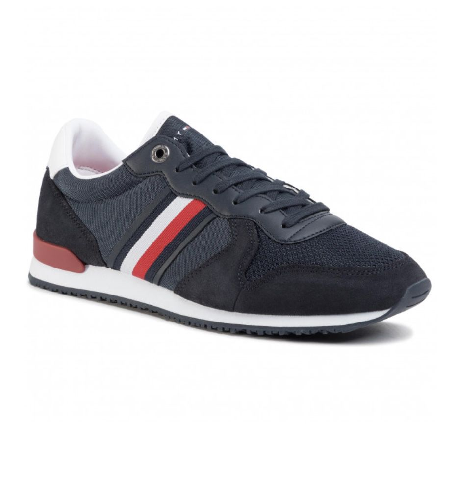 Tommy Hilfiger Icons Panelled Lace-Up Sneaker für 50€ (statt 71€)