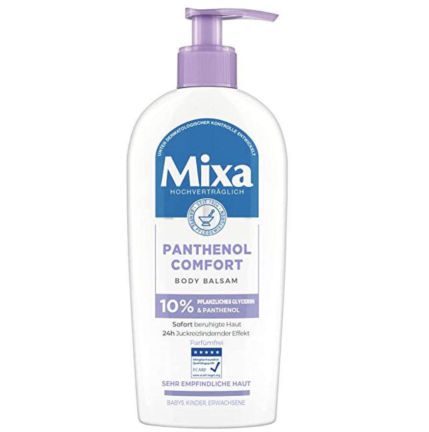 5x Mixa Panthenol Comfort Body Balsam für empfindliche Haut für 14€ (statt 19€) – Prime Sparabo