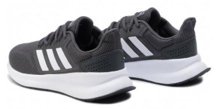 adidas Runfalcon F36200 Laufschuhe in Grau für 32,30€(statt 40€)