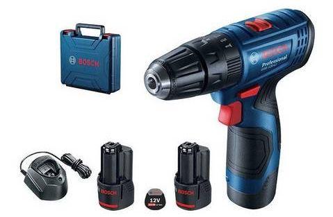 Bosch Professional GSB 120 LI Akku Schlagbohrschrauber inkl. Koffer + 2 Akkus 2.0Ah für 81,50€ (statt 105€)
