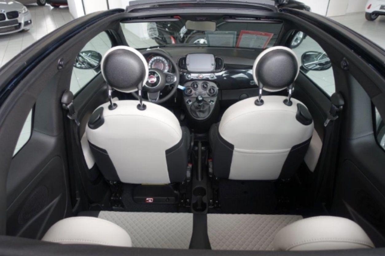 Fiat 500C Cabrio Dolcevita MY 21 1.0 GSE Hybrid, Apple/ Android Auto mit 69PS für 89€ mtl.   LF: 0,45