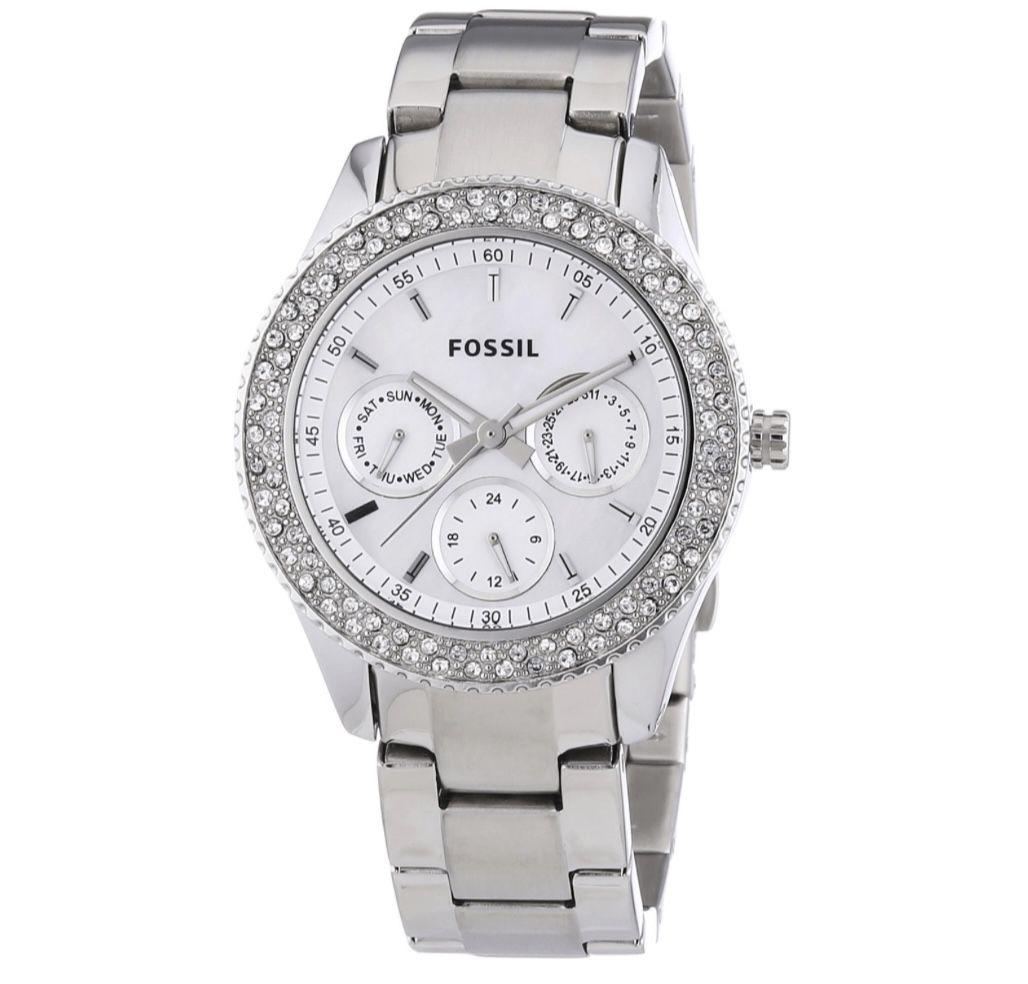 Fossil Damen Analog Edelstahl-Uhr für 69,93€ (statt 102€)