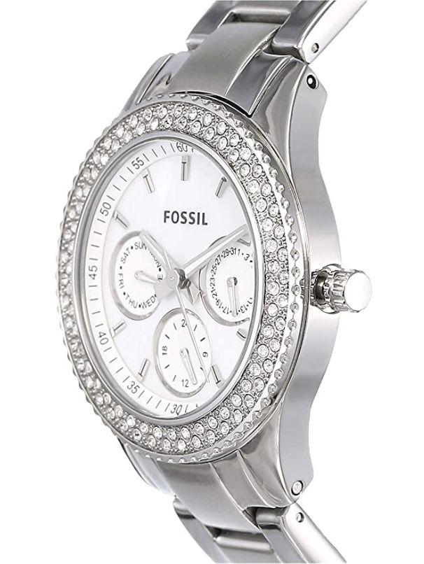 Fossil Damen Analog Edelstahl Uhr für 69,93€ (statt 102€)