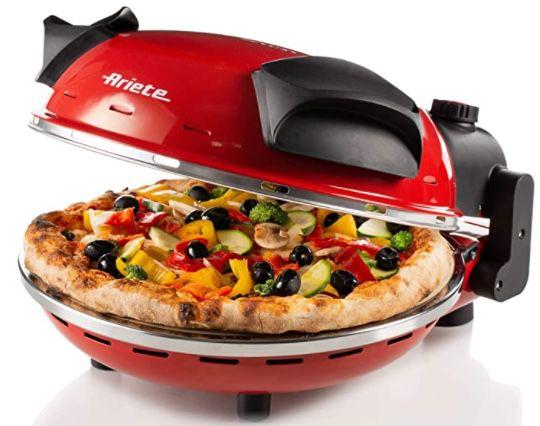 Ariete 909 Pizzaofen bis max. 400°C für 72,23€(statt 94€)