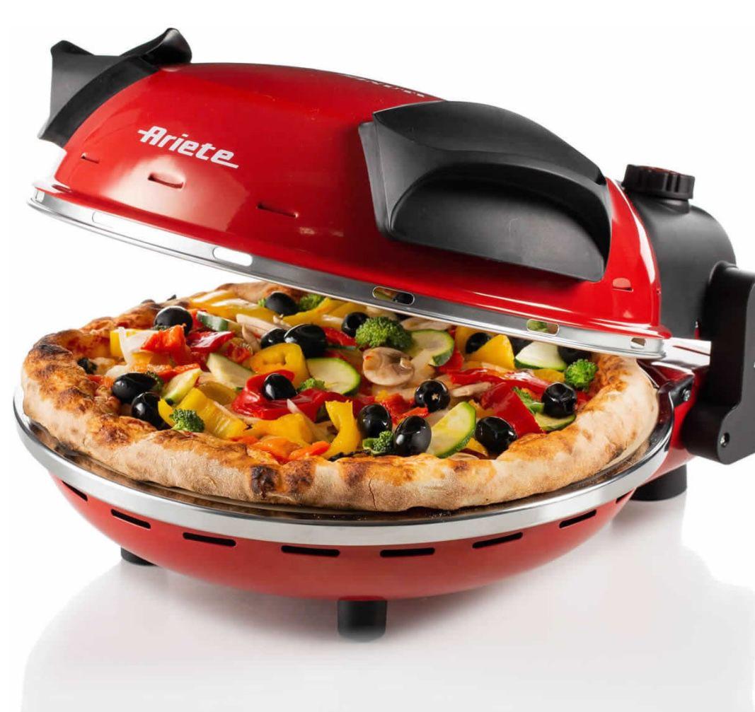 Ariete 909 Pizzaofen bis max. 400°C für 74,99€(statt 80€)